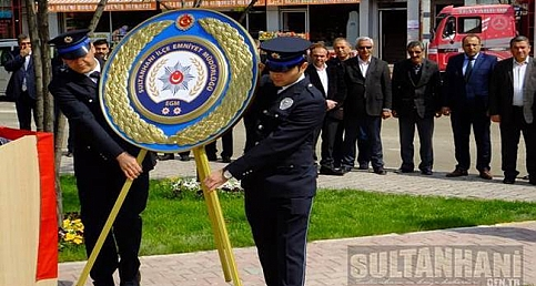 Sultanhanı ilçesinde Polis Haftası Kutlandı