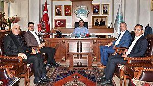 KON TV AKSARAY BELEDİYESİ'Nİ ZİYARET ETTİ