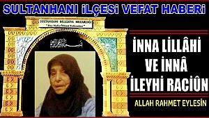 REFİK EŞİ ZEKİYE BÖGE VEFAT ETTİ 07.10.2019 PAZARTESİ
