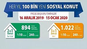 EŞMEKAYA KASABASINA 100 ADET TOKİ KONUTU YAPILIYOR