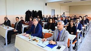 ASÜ DE 250'NCİ SENATO TOPLANTISI 14 YIL ÖNCEKİ İLK TOPLANTI YERİNDE YAPILDI