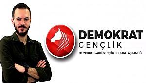 DEMOKRAT PARTİ'DE GENÇLİK KOLLARI İÇ ANADOLU BÖLGE KOORDİNATÖRÜ ZÜBEYİR OKAY OLDU