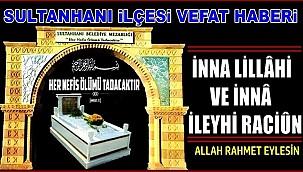 BAYRAM EŞİ HATİCE ALTINSOY VEFAT ETTİ 07.08.2020 CUMA