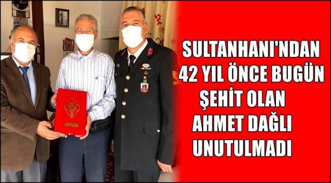 SULTANHANI İLÇESİNDEN 42 YIL ÖNCE ŞEHİT OLAN AHMET DAĞLI UNUTULMADI