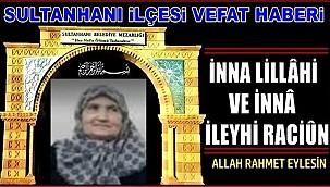 HACI İHSAN EŞİ ZEYNEP DAĞLI VEFAT ETTİ 04.12.2020 CUMA