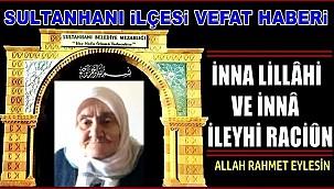 MEHMET EŞİ ÜMMÜGÜLSÜM ŞANLI VEFAT ETTİ 01.12.2020 SALI