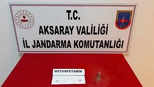 JANDARMADAN AKSARAY YENİKENT'DE UYUŞTURUCU OPERASYONU