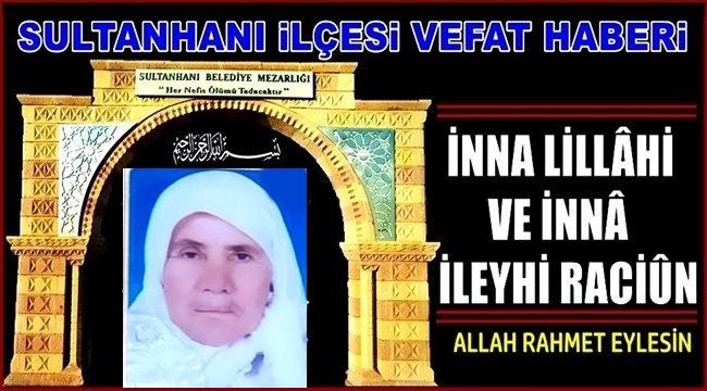 ALİ EŞİ FADİME BOZKAYA VEFAT ETTİ 08.03.2021 PAZARTESİ