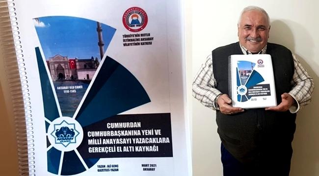 CUMHURBAŞKANI ERDOĞAN'IN YENİ ANAYASA TALEBİNE İLK CEVAP AKSARAY'DAN!!!