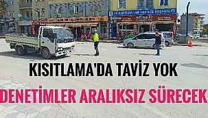 SULTANHANI İLÇESİNDE KISITLAMA DENETİMLERİ BAŞLADI