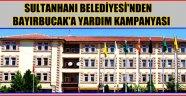 SULTANHANI BELEDİYESİ'NDEN BAYIRBUCAK TÜRKMENLERİNE YARDIM KAMPANYASI