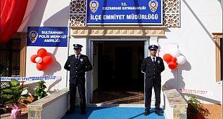 Sultanhanı ilçe Emniyet Müdürlüğü Açılış Töreni