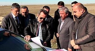 Sultanhanı Organize Sanayi bölgesi Arazi incelemesi